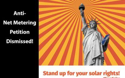Solar Advocacy – Net Metering