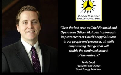 Malcolm Proudfit Promoted to CEO of Good Energy Solutions