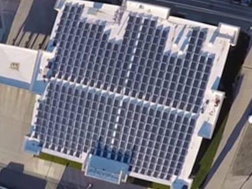 Grant County Bank Commercial Solar Array in Ulysses, Kansas