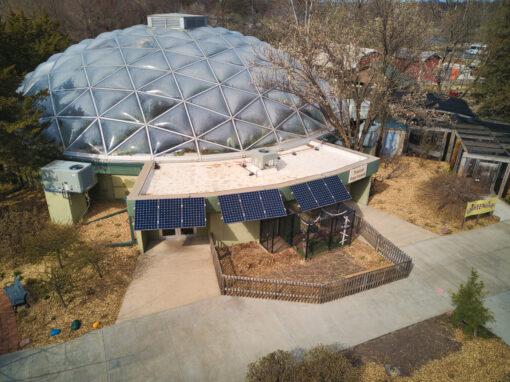 Topeka Zoo 13.4 kW SunPower Solar PV Awning – Topeka, Kansas