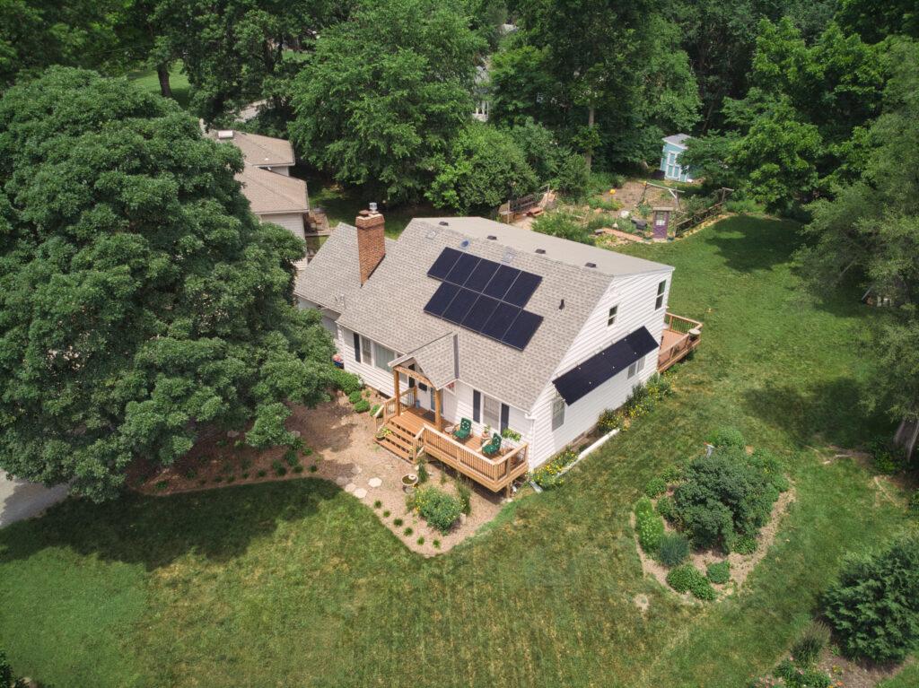 Residential Solar Awning