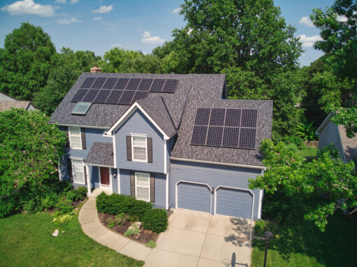 SunPower Residential Solar Installation in Lenexa, Kansas