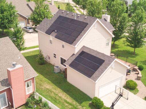 9.045 kW SunPower Residential Solar Installation in Lee's Summit, Missouri