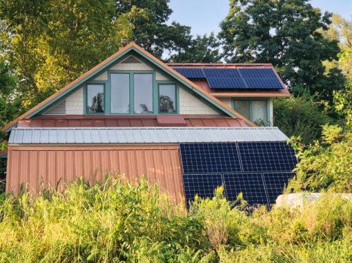 3.27kW SunPower Residential Solar Installation in Lawrence, Kansas
