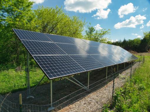 Vinland Valley Nursery 9.72kW Solar PV System – Baldwin City, Kansas