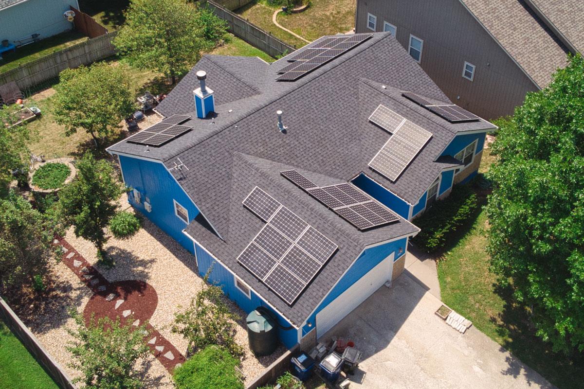 solar panel reinstallation