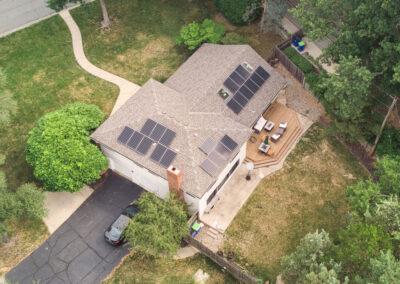 7.92 kW Residential Solar Installation in Overland Park, Kansas